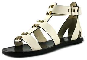 AERIN Eliza Open Toe Leather Sandals.