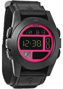 Nixon Baja Digital Black Polycarbonate Men's Watch, A489480