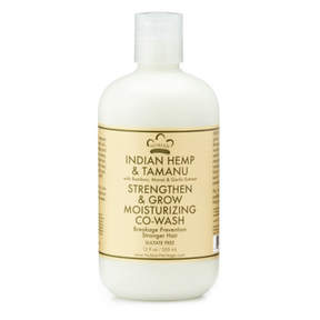Nubian Heritage Indian Hemp + Tamanu Co-Wash by 12oz Wash)