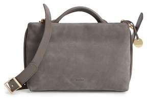 Skagen Mikkeline Mini Leather Satchel - Grey