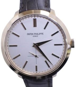 Patek Philippe Calatrava 5123R 18K Rose Gold / Leather 38mm Mens Watch