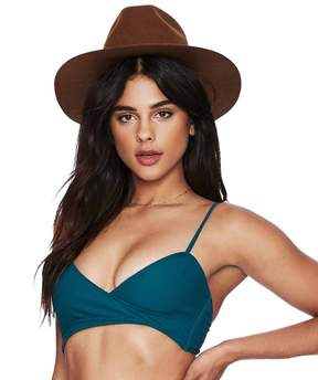Beach Riot Flora Wrap Bikini Top