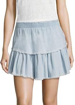 Generation Love Women's Kimberly Double Layer Cotton Skirt