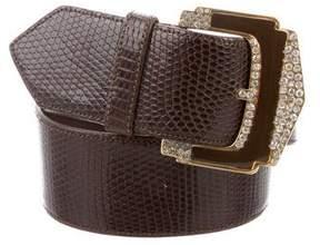 Valentino Embossed Waist Belt