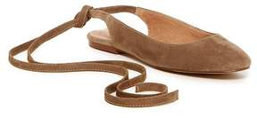 Madewell April Ankle Wrap Flat