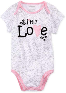 First Impressions Little Love Cotton Bodysuit, Baby Girls (0-24 months), Created for Macy's