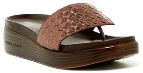 Donald J Pliner Fifi Woven Wedge Sandal