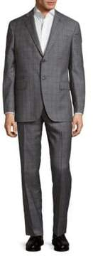 Michael Bastian Plaid Wool Suit