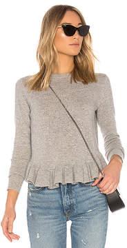 Autumn Cashmere Ruffle Sweater