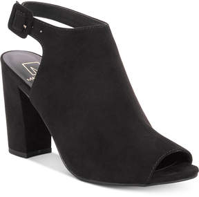 Material Girl Brittni Slingback Shooties, Created for Macy's Women's Shoes