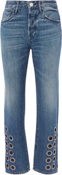 3x1 W3 Higher Ground Hollow Grommet Jeans