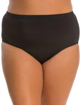 Fit 4 U Fit4U Swimwear Plus Size Swim Brief Bottom 8113550