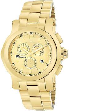 Oceanaut Baccara Mens Gold-Tone Watch