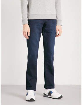 BOSS ORANGE Faded regular-fit straight jeans