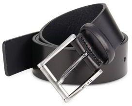HUGO Slim Leather Belt