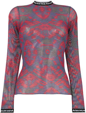 Aries patterned mesh top
