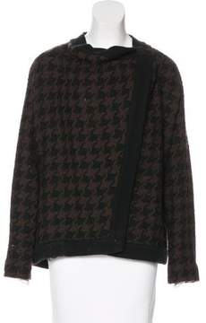 Dusan Wool Houndstooth Jacket