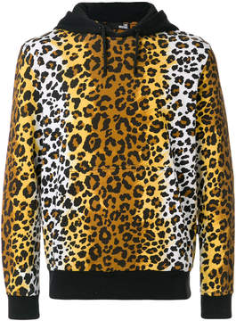 Love Moschino leopard print hoodie