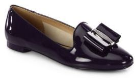 Salvatore Ferragamo Elisabel Patent Leather Loafers