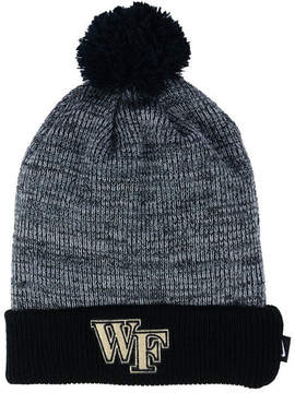 Nike Wake Forest Demon Deacons Heather Pom Knit Hat