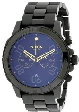 Nixon Ranger Black Stainless Steel Chronograph Mens Watch A549010