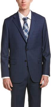 Hickey Freeman 2Pc Milburn Ii Wool Suit