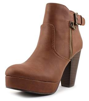 Material Girl Raelyn Round Toe Synthetic Ankle Boot.