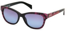 Just Cavalli 55MM Mixed-Print Acetate Sunglasses