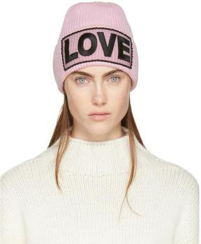 Versace Pink Love Beanie