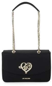 Love Moschino Signature Logo Shoulder Bag