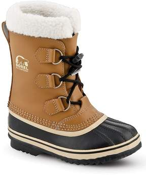 Sorel Unisex Yoot Pac Leather Cold Weather Boots - Little Kid, Big Kid