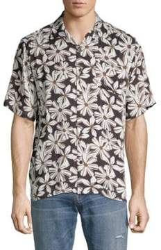 Standard Issue NYC Floral Button-Down Shirt