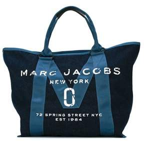 Marc by Marc Jacobs Women's Blue Denim Tote. - BLUE - STYLE