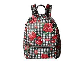 Betsey Johnson Gingham Style Backpack Backpack Bags