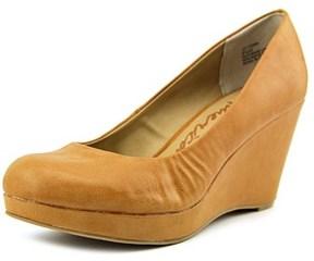 American Rag Kenna Open Toe Synthetic Wedge Heel.