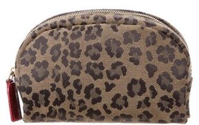 Fendi Leopard Print Cosmetic Bag