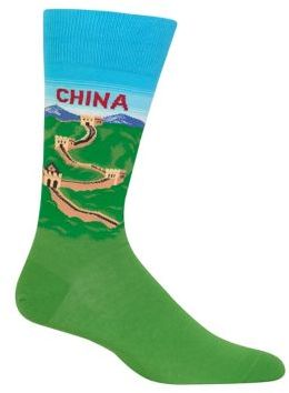 Hot Sox Light Blue China Socks