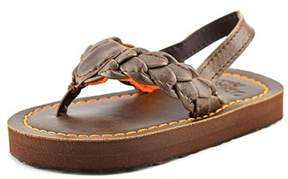 Osh Kosh Jared 2 Toddler Open-toe Synthetic Brown Slingback Heel.