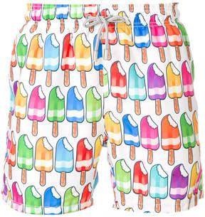 MC2 Saint Barth ice lolly print swim shorts