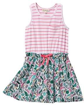 Tucker + Tate Knit to Woven Dress (Little Girls & Big Girls)