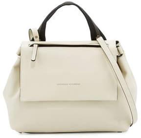 Brunello Cucinelli Medium Leather Satchel Bag