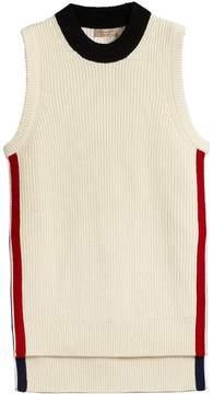 Burberry rib knit vest