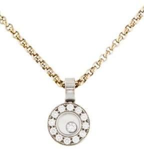 Chopard Happy Diamonds Icons Circle Pendant Necklace