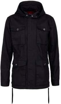 Mostly Heard Rarely Seen 'It's Lit' rubber appliqué unisex zip jacket