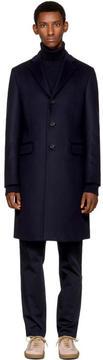 Acne Studios Navy Gavin Coat