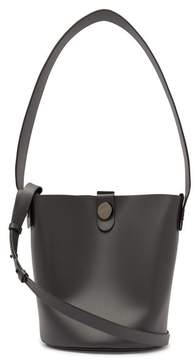 Sophie Hulme Swing Leather Bucket Bag - Womens - Grey