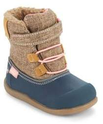 See Kai Run Baby's & Toddler's Faux Shearling Waterproof Boots
