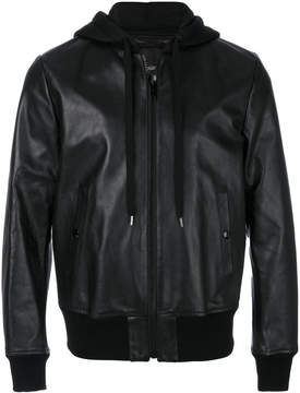 Marc Jacobs hooded bomber jacket