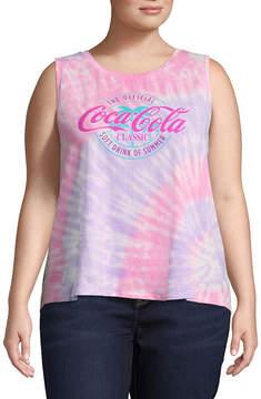 Fifth Sun Coca Cola Tank - Juniors Plus