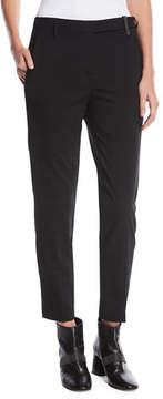 Brunello Cucinelli Straight-Leg Wool Pants